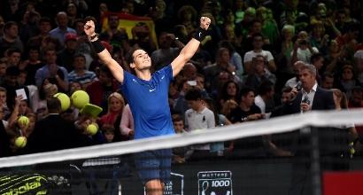 Tennis: Nadal chiude il 2017 da numero uno