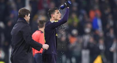 """Champions, Pochettino: """"Juve a lungo dominata"""""""