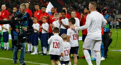 Rooney dice addio all'Inghilterra: Wembley ai suoi piedi