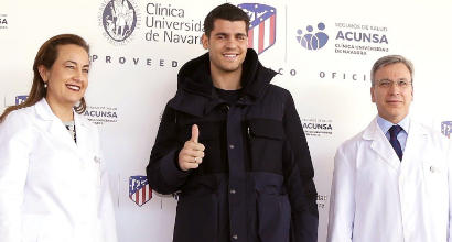 Morata all'Atletico Madrid, 'felice'