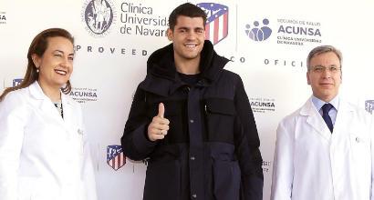 Morata all'Atletico Madrid, 'felice'