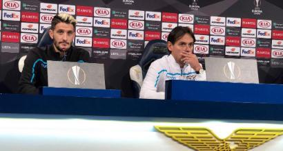 """Lazio, Inzaghi: """"Sfavoriti col Siviglia, ma ci crediamo. Immobile? Più no che sì"""""""