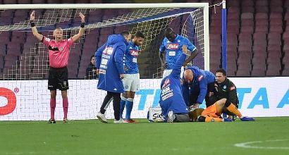 """Napoli, Ospina dimesso ma scatta la verifica sui soccorsi: """"Portato in un ospedale senza il reparto corretto"""""""