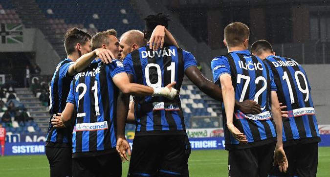 Serie A, Atalanta-Sassuolo 3-1: la Dea è in Champions