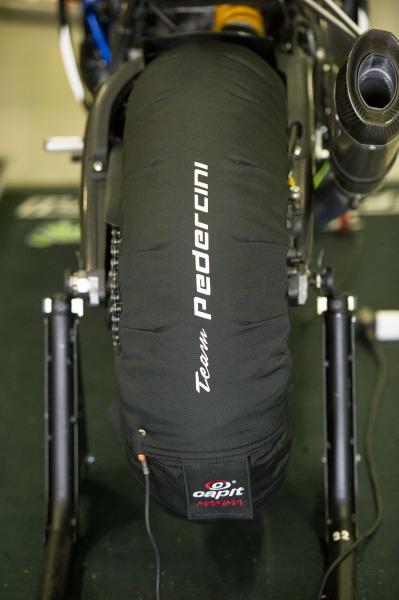 Superbike, il team Pedercini Kawasaki