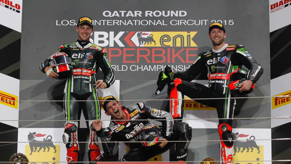 Superbike: ruggito di Jordi Torres, che batte le Kawasaki in Qatar