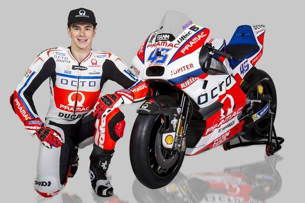 MotoGP, presentato il team Pramac Ducati