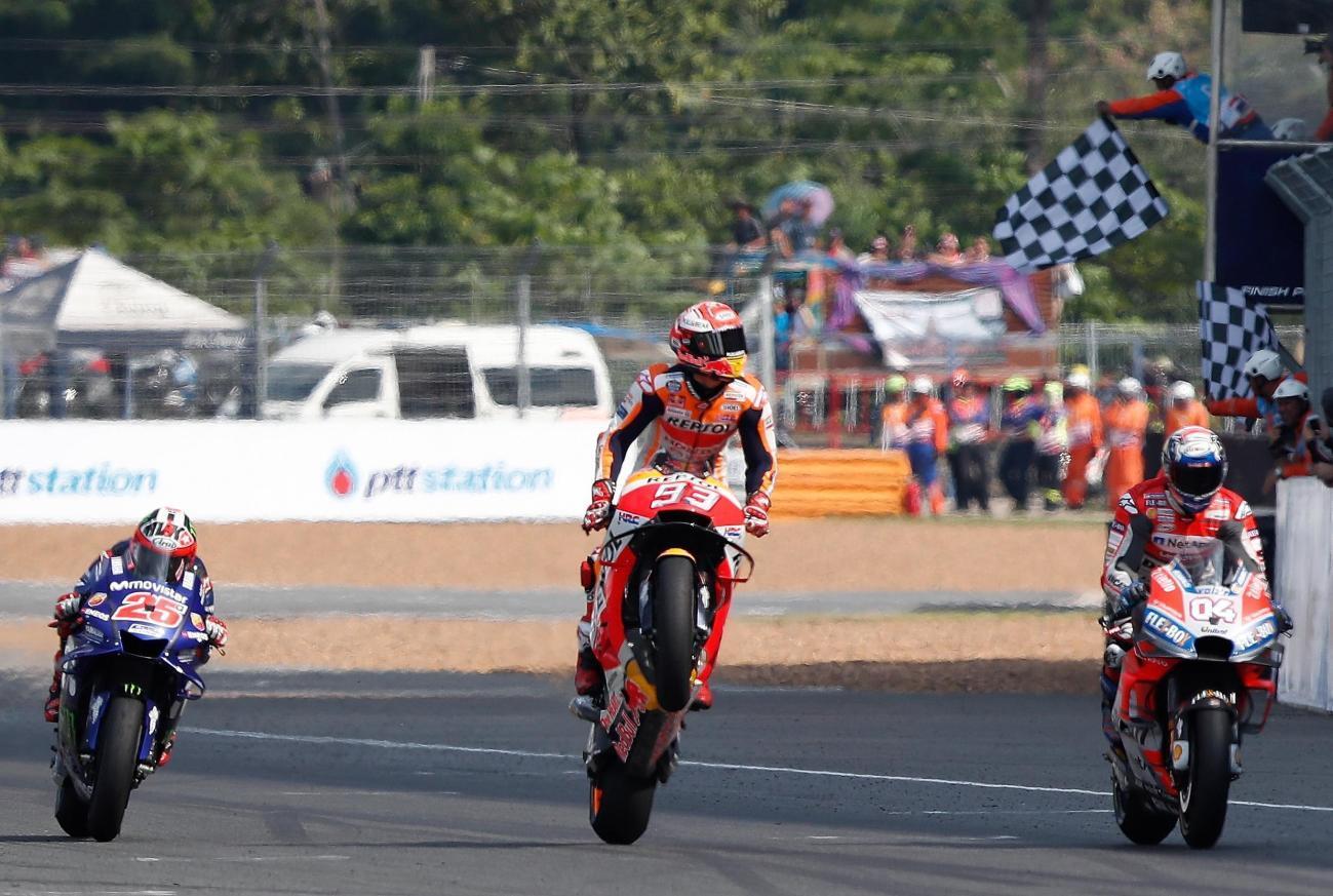 MotoGP, titolo sempre più vicino per Marquez
