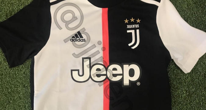 Juventus, maglie senza strisce nel 2019/20