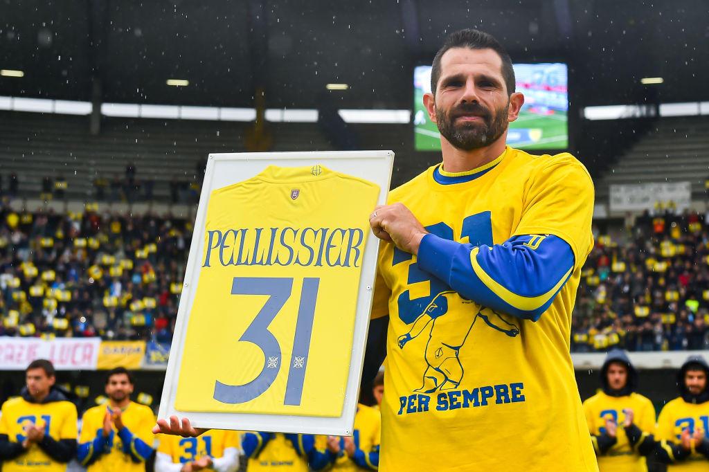 Sergio Pellissier, 40 anni e 516 partite con il Chievo, si è ritirato: farà il ds dei gialloblù