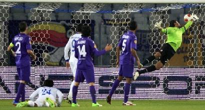 Il gol di Pereira, foto Reuters