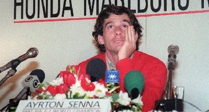 Ayrton Senna (Afp)