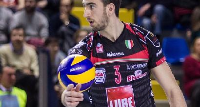 Volley, SuperLega: Modena cade, Trento è a -1