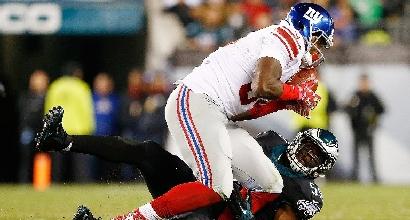 Nfl: i Giants si fermano a Philadelphia