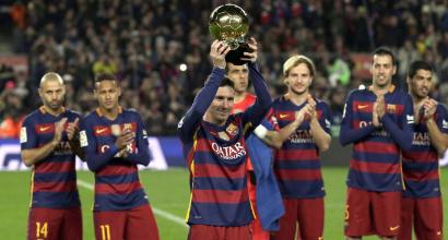 Messi, foto Lapresse