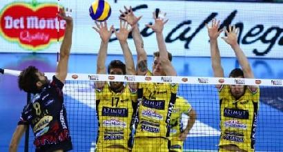Volley, Supercoppa: Perugia si butta via, Modena campione