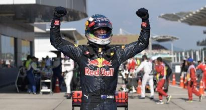 F1, le pagelle di Sepang: Ricciardo e Verstappen da 9