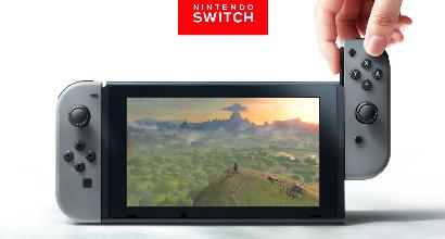 Nintendo svela la Switch: per giocare in casa, fuori e con gli amici