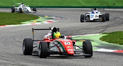 Formula 4: show di Mick Schumacher a Monza
