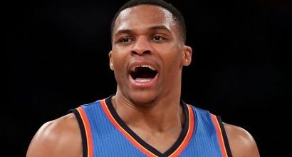 Nba: Westbrook eguaglia il record di Michael Jordan per triple doppie