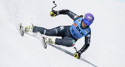 Sci: Stuhec imbattibile in Super G, Curtoni seconda