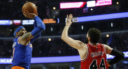 NBA, Carmelo Anthony saluta New York e va ad Oklahoma City<br />