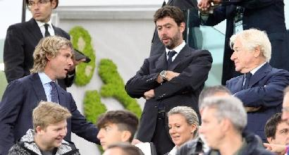 Juve Agnelli alla carica
