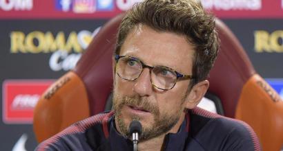 """Roma, Di Francesco e il derby: """"Emozione unica, da far tremare le gambe"""""""