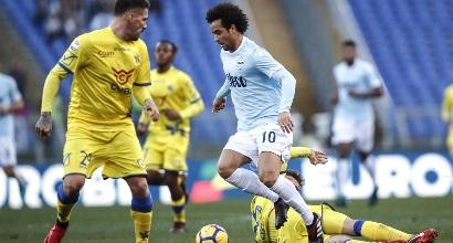 Lazio: Felipe Anderson torna ad allenarsi in gruppo