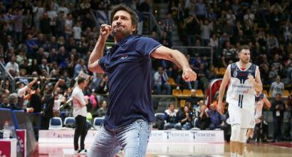 """Basket, Pozzecco: """"La Fortitudo in A è un sogno. Essere costretto a vincere non mi fa paura"""""""