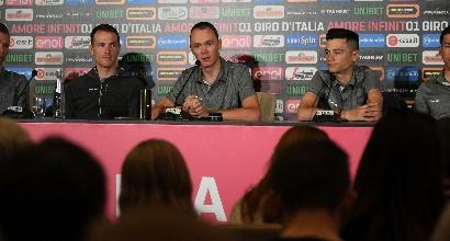 Giro, Dumoulin attacca Froome