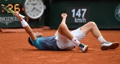 Roland Garros: impresa storica di Cecchinato, è in semifinale