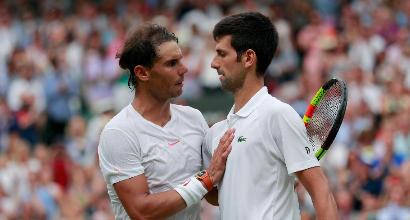 Tennis, classifica ATP: Nadal allunga su Federer, Djokovic torna n.10