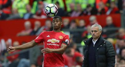 Manchester Utd: Mourinho critica Rashford per l'atteggiamento