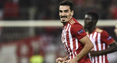 Europa League. L'Olympiacos travolge 5-1 il Dudelange, Arsenal già ai sedicesimi