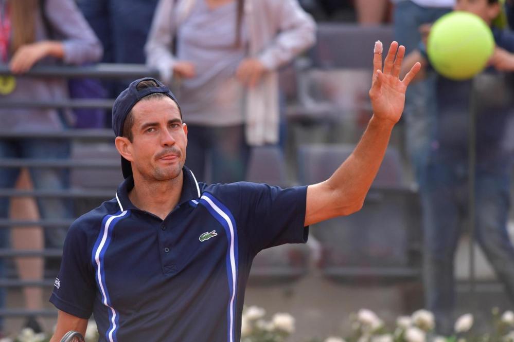 Tennis: Fognini, Errani e Seppi sconfitti al primo turno di Roma