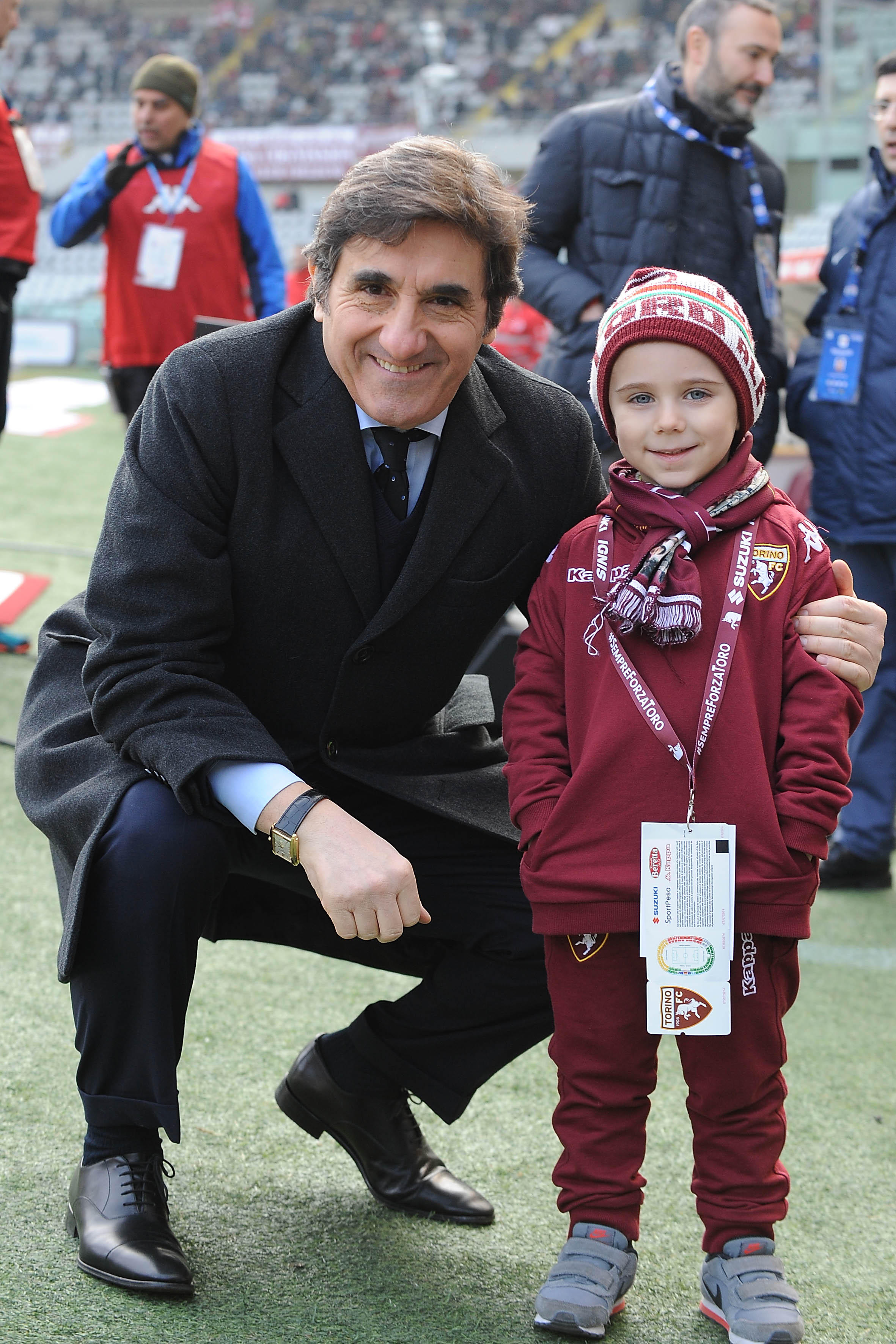Torino: Lorenzo incontra Belotti e riceve in regalo la sua maglia