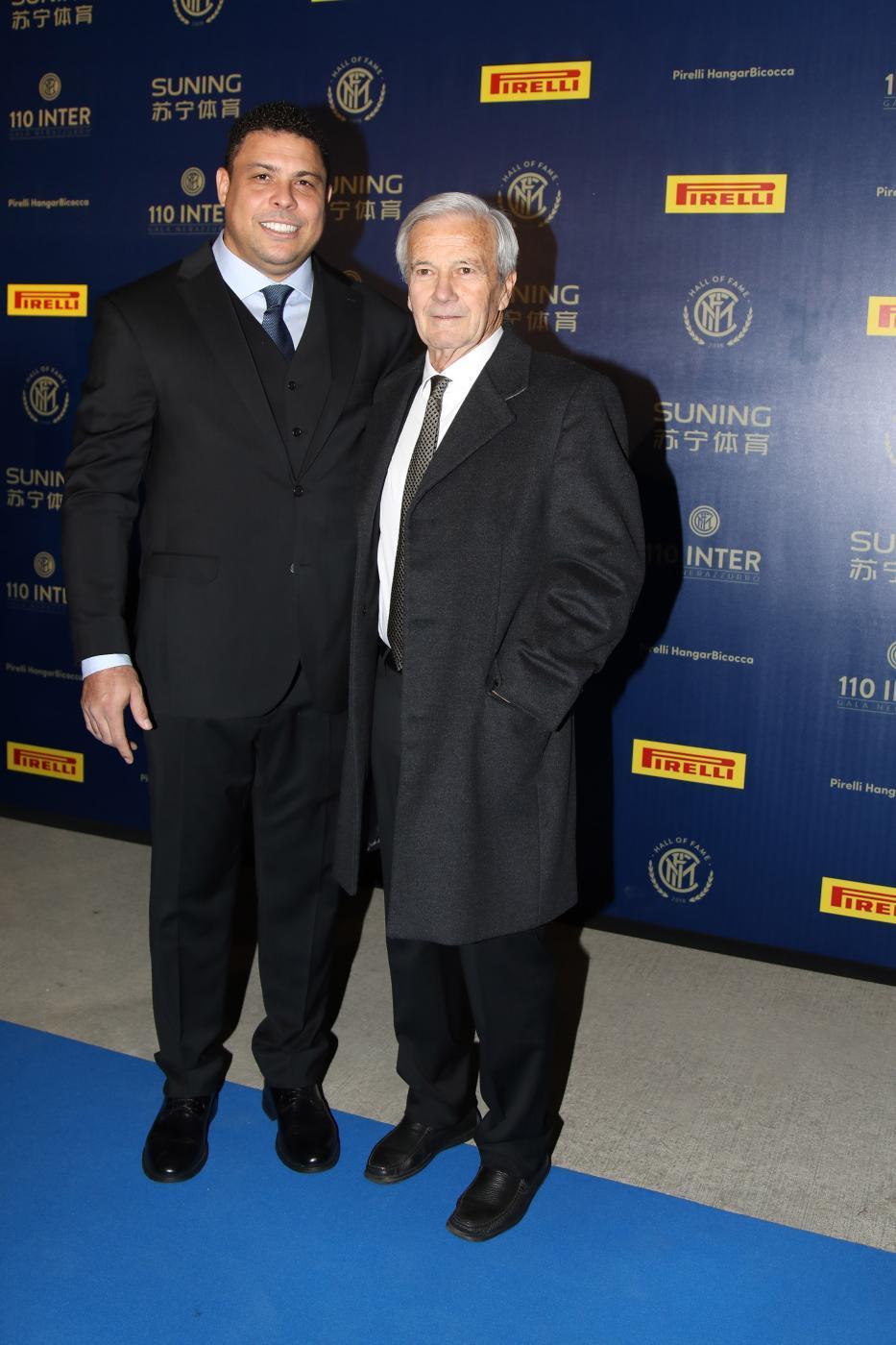 Ronaldo e Gigi Simoni