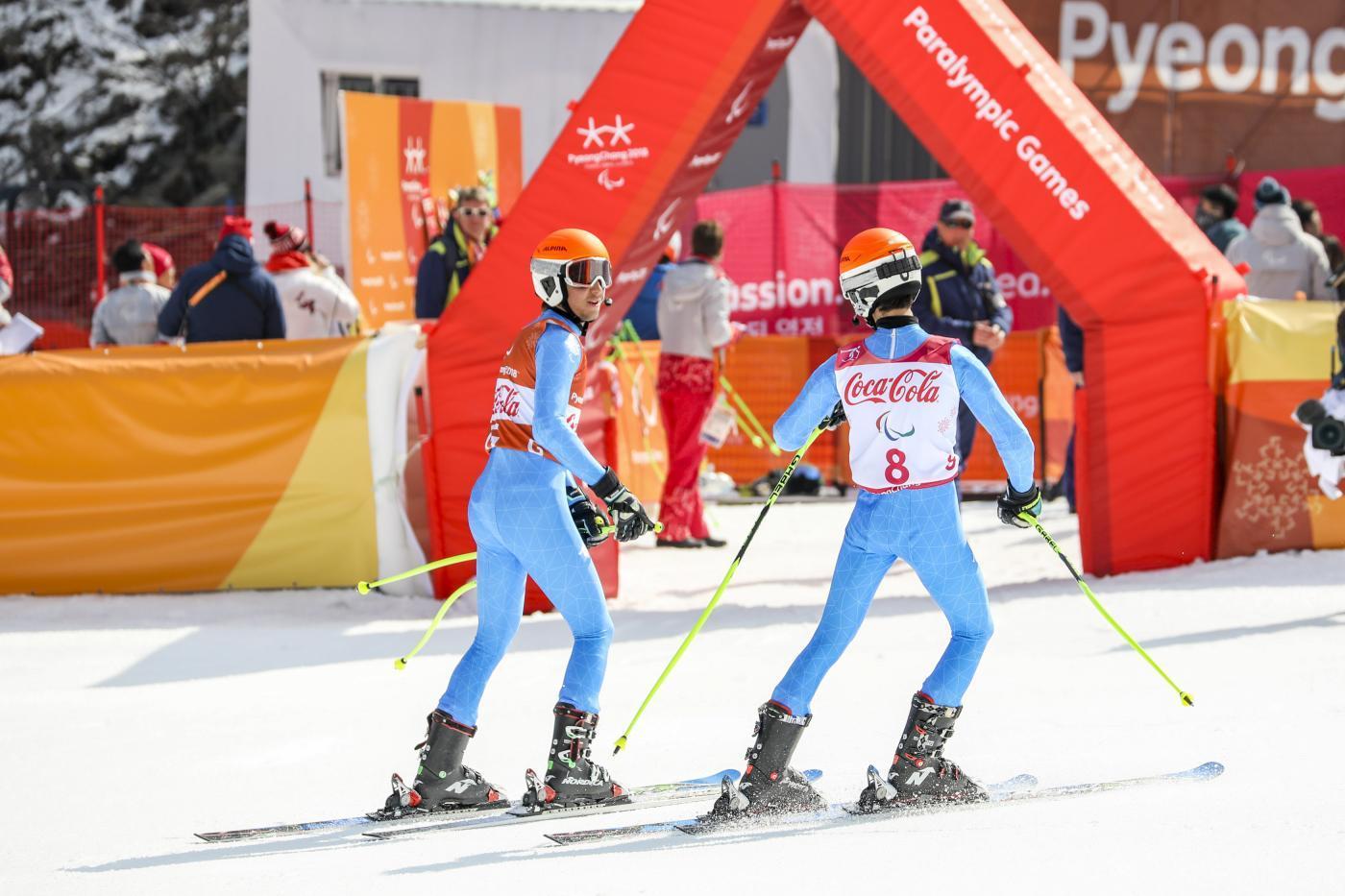 Paralimpiadi 2018, Bertagnolli bronzo in discesa