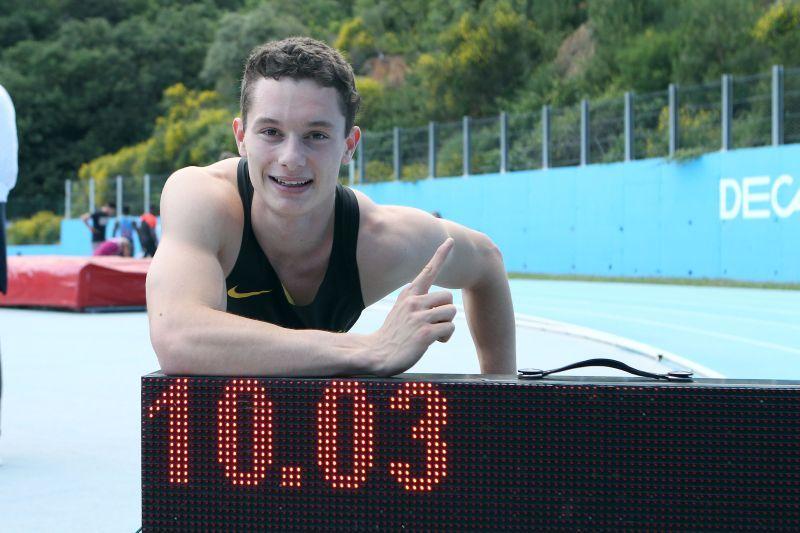 Atletica, Tortu corre i 100m in 10