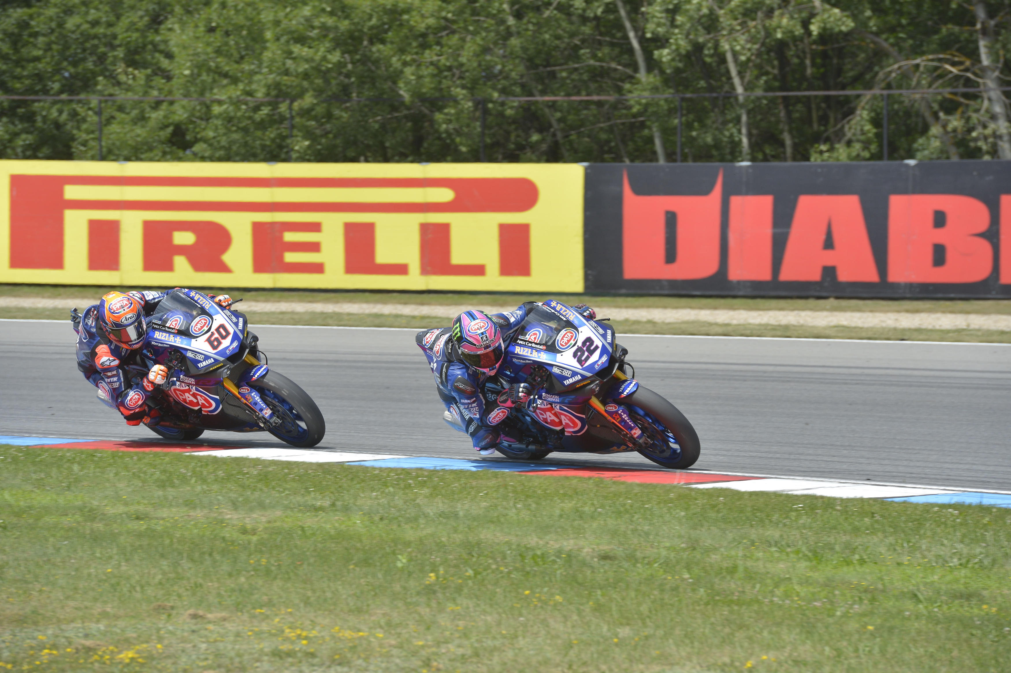Superbike, doppietta Yamaha in gara-2 a Brno