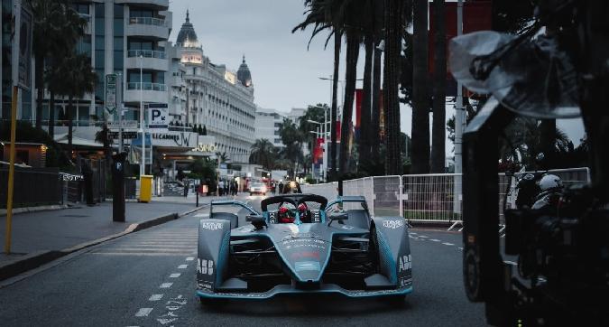 Formula E, Vergne sfila a Cannes