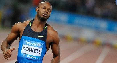 Atletica, Asafa Powell squalificato 18 mesi per doping