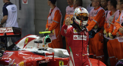Vettel, LaPresse