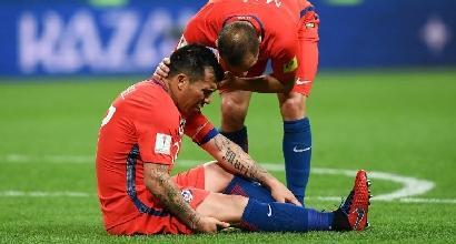 Conf Cup, Germania-Cile 1-1