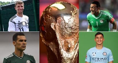 Mondiali 2018, tutte le curiosità: dal più vecchio al più... basso