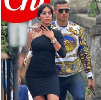 Ronaldo e Georgina, foto Chi