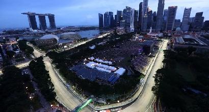 F1, a Singapore cambia il tracciato: è due metri più corto