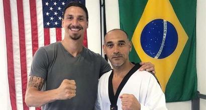 Il segreto di Ibrahimovic: si allena con un maestro di taekwondo