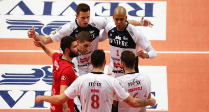 Volley: nemmeno Modena ferma Perugia, Milano demolisce Monza nel derby